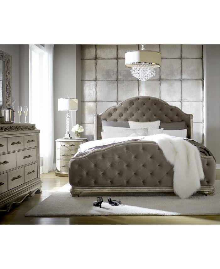 Furniture Zarina Queen Bed & Reviews - Furniture - Macy's