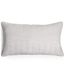 "Hotel Collection Keystone 14"" x 24"" Decorative Pillow, Created for Macy's"