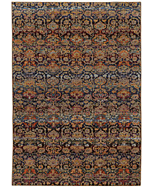 "Macy's Fine Rug Gallery Journey  Valley Multi 3'3"" x 5'2"" Area Rug"