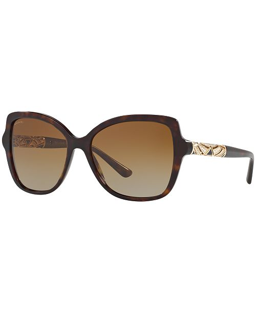 BVLGARI Polarized Sunglasses, BV8174B