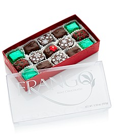 15-PC Holiday Decorated Dark Mint Box of Chocolates