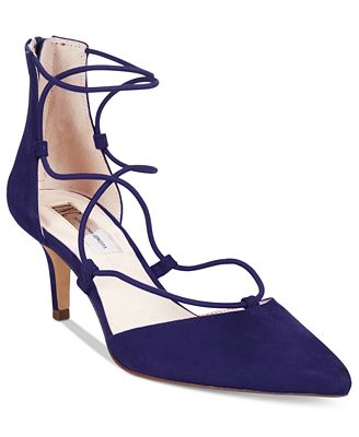 INC International Concepts Daree Lace-Up Pumps, Created for Macy's