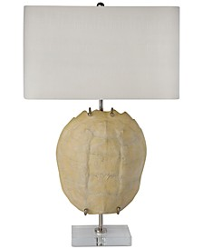 Regina Andrew Design Bleached Turtle Shell Table Lamp
