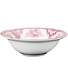 "Johnson Bros. ""Old Britain Castle Pink"" Soup Bowl"