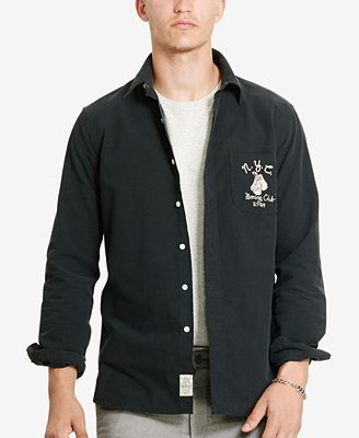 Polo Ralph Lauren Men's Embroidered Oxford Shirt