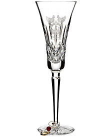 Waterford 12 Days Collection Lismore Three French Hens Flute