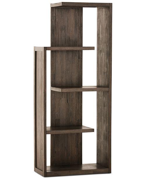 Simpli Home Oswen Bookcase, Quick Ship