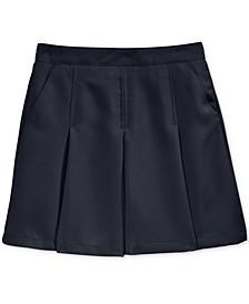 School Uniform Pleated Scooter Skirt, Little Girls & Big Girls