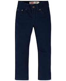 Levi's® 511™  Slim Fit Sueded Pants, Toddler Boys
