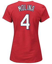 Women's Yadier Molina St. Louis Cardinals T-Shirt