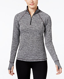Ideology Rapidry Half-Zip Performance Pullover, Created for Macy's