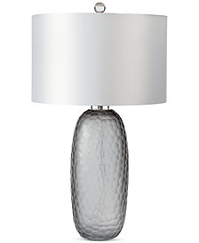Regina Andrew Design Honeycomb Smoked Glass Table Lamp