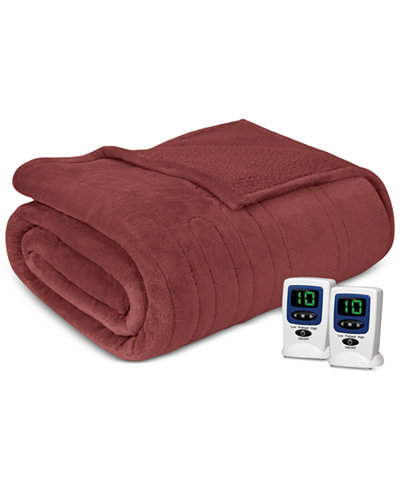 Beautyrest Microlight Berber King Heated Blanket