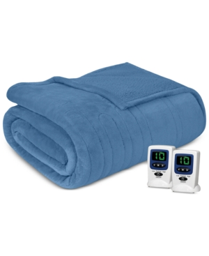 Beautyrest Microlight Berber Twin Heated Blanket Bedding