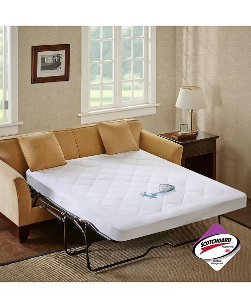 The Sleep Philosophy Waterproof Mattress Pad Adds Comfort To Your Sofabed And Also Features Moisture Wicking Properties That Help Fight Against Stains