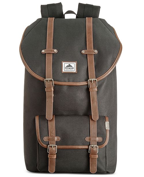 91abb35cb6 Steve Madden Utility Backpack & Reviews - Bags & Backpacks - Men ...