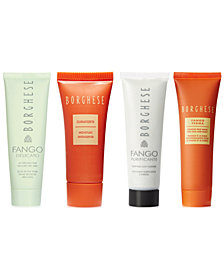 Receive a FREE 4-pc skincare set with any $45 Borghese purchase