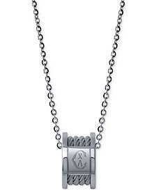 CHARRIOL Women's Forever Stainless Steel Cable Pendant Necklace