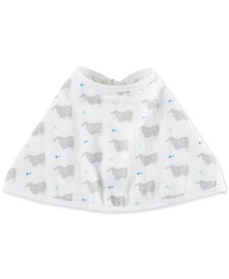aden + anais Baby Boys & Girls Star Elephant-Print Burpy Bib