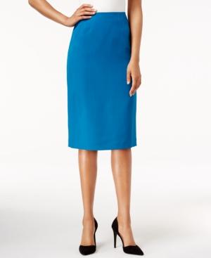 Retro Skirts: Vintage, Pencil, Circle, & Plus Sizes Kasper Pencil Skirt $36.99 AT vintagedancer.com