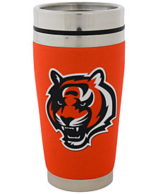 Hunter Manufacturing Cincinnati Bengals 16oz Stainless Steel Travel Tumbler