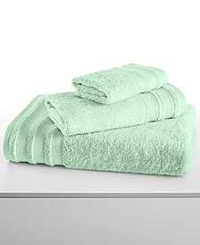 "CLOSEOUT! Charter Club Classic Pima Cotton 30"" x 56"" Bath Towel, Created for Macy's"