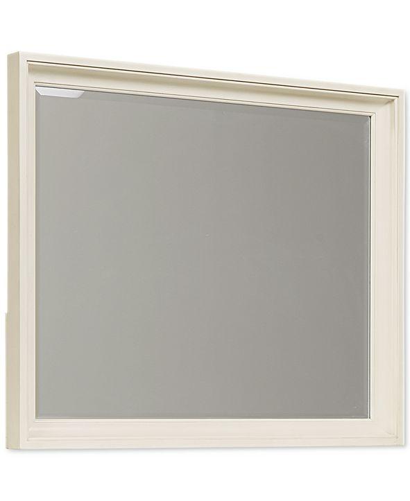 Furniture Sag Harbor White Mirror