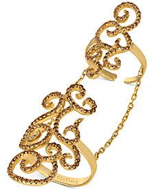 Le Vian® Chocolatier Diamond Knuckle Ring (1-1/6 ct. t.w.) in 14k Gold