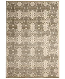CLOSEOUT! Kelly Ripa Home Interlock KRH20 Light Grey 2'3'' x 8' Runner Rug, Created for Macy's