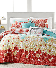 Delphine Reversible 5-Pc. Full Comforter Set