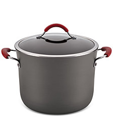 Rachael Ray Cucina Hard-Anodized 10-Qt. Stockpot With Lid