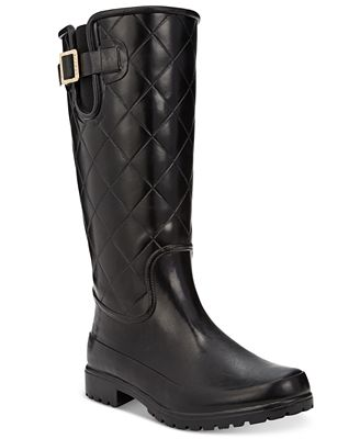 Sperry Women's Pelican Tall Quilted Rain Boots - Boots - Shoes ...