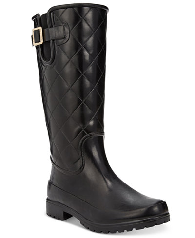 Sperry Women S Pelican Tall Quilted Rain Boots Boots