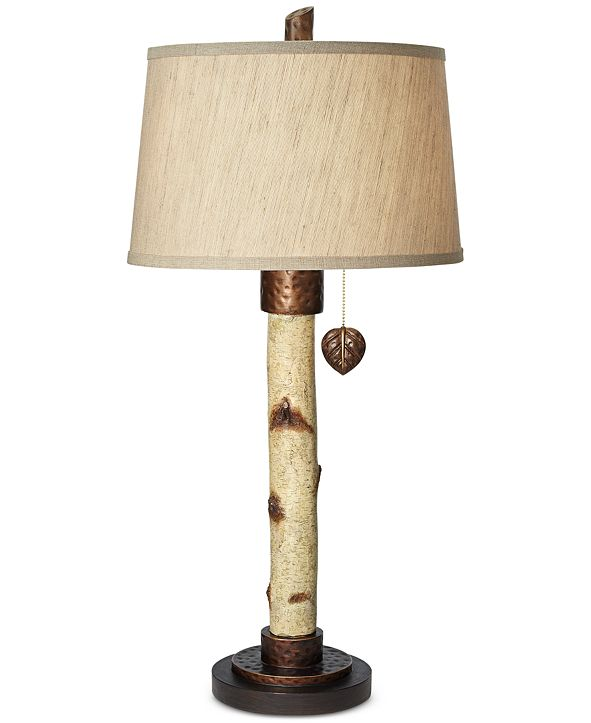 Kathy Ireland Pacific Coast Birch Tree Table Lamp