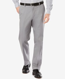 Dockers Men's Big & Tall Signature Classic Pleated Fit Khaki Stretch Pants D3