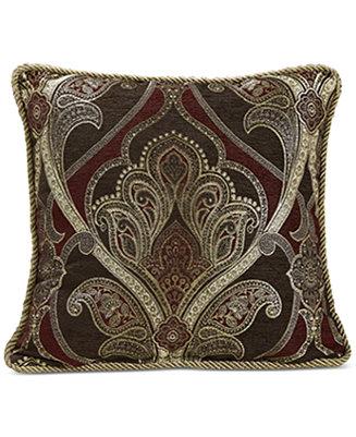 Croscill Bradney 18 Quot Square Decorative Pillow Bedding