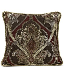 "Croscill Bradney 18"" Square Decorative Pillow"