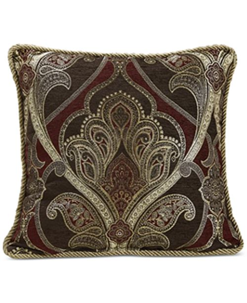Croscill Bradney 40 Square Decorative Pillow Decorative Throw Unique Cheap Decorative Pillows Under 10