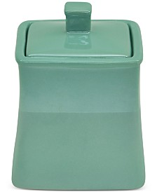 Jessica Simpson Kensley Aqua Covered Jar
