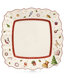 Villeroy & Boch Toy's Delight Square White Salad Plate