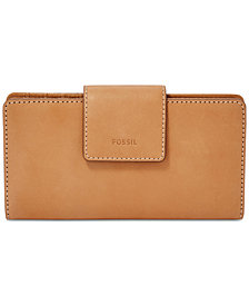 Fossil Emma RFID Tab Leather Wallet
