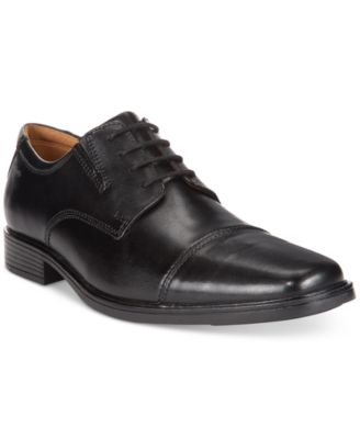 Clarks Tilden Cap Toe Leather Derby - Wide Width Available sXpwcxjEy