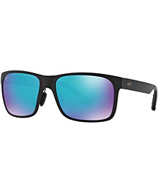 Red Sands Polarized Sunglasses , 432 Blue Hawaii Collection