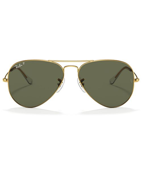 Ray-Ban Polarized Sunglasses , RB3025 AVIATOR