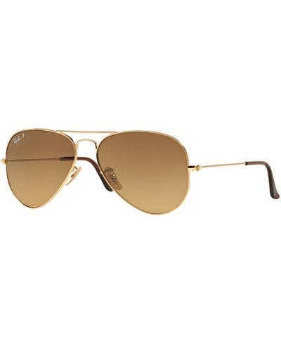 Ray-Ban Sunglasses, RB3025 58 ORIGINAL AVIATOR