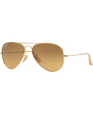 Ray-Ban Polarized Sunglasses, RB3025 58 Aviator
