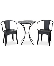 Waltin 3-Pc Bistro Set, Quick Ship
