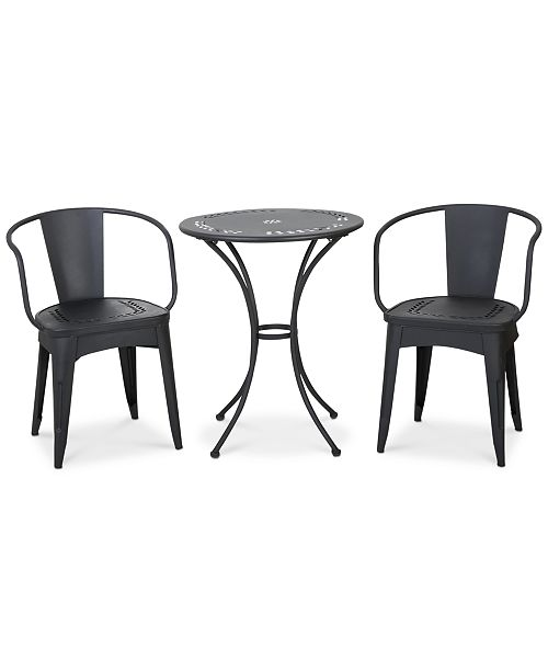 Furniture Waltin 3-Pc Bistro Set, Quick Ship