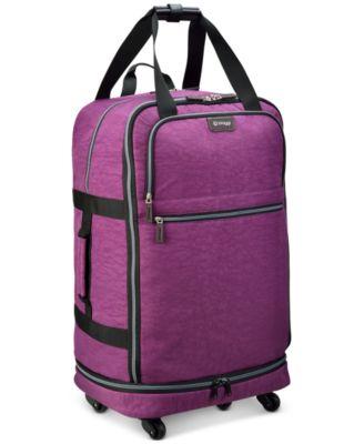 """Zipsak 27"""" Microfold Spinner Suitcase"""