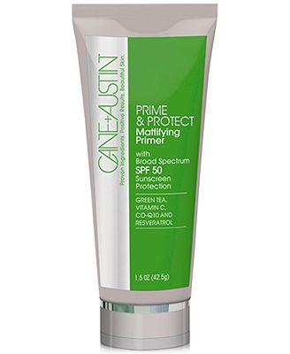 Cane+Austin Prime & Protect Mattifying Primer, 1.5 oz